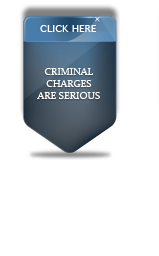 Criminal Charges Are Serious